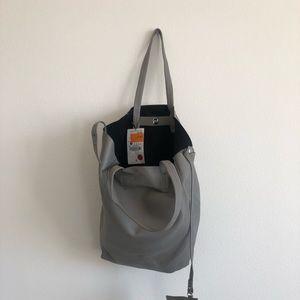 Zara grey tote